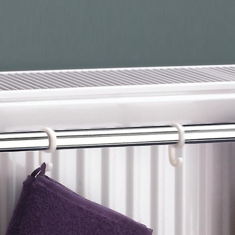 ximax handtuchhalter handtuchstange f r kompaktheizk rper diverse gr ssen ebay. Black Bedroom Furniture Sets. Home Design Ideas