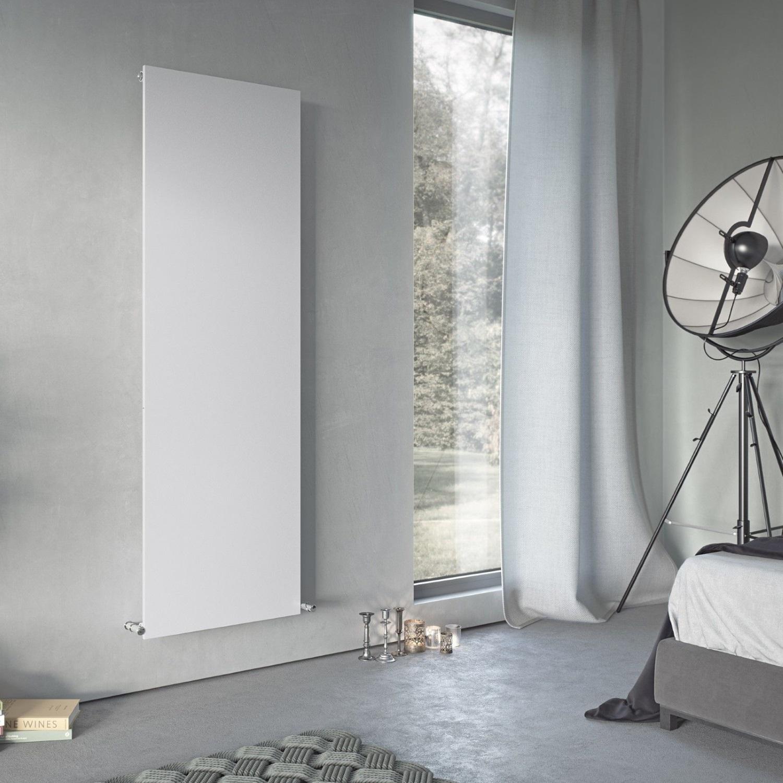 heizk rper paneel glatt heizwand wei flachheizk rper 1800x595 mm 1100 watt ebay. Black Bedroom Furniture Sets. Home Design Ideas